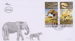 Archéologie éléphant Félins Lion : Israël Holon éléphant Jaffa Lion (28-8-2018) - Archéologie