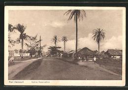 CPA Port Harcourt, Vue De La Rue In Der Native Reservation - Nigeria