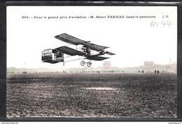 1493 AV044 AK PC CPA ISSY LES MOULINEAUX HENRI FARMAN DANS LE PARCOURS 13 JANVIER 1908 NON ECRITE TTB - ....-1914: Precursori