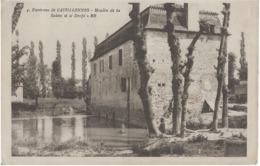 ENVIRONS DE CASTILLONNES - MOULIN DE LA SALEVE ET LE DROPT - ANIMEE - 1927 - France