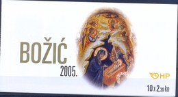 HR 2005-746 CHRISTMAS, CROATIA-HRVATSKA, BOOKLET, MNH - Kroatien