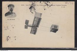 1495 AV047 AK PC CPA METROT SUR BIPLAN VOISIN CIRCULER TTB ( - ....-1914: Precursori
