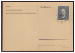 Böhmen Und Mähren (005490) Postkarte Mit MNR 138 Blanco Gestempelt Iglau Am 12.5.1944 FDC - Böhmen Und Mähren