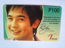 PLDT  Rico Yan   100 Pesos - Philippines
