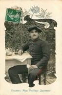 SOLDAT DU 2em REGIMENT D'ARTILLERIE DE MONTAGNE 5em BATTERIE A NICE  1912 - Régiments