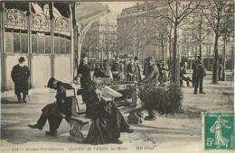 PARIS SCENES PARISIENNES QUARTIER DE L'ETOILE UN BANC - Distrito: 08