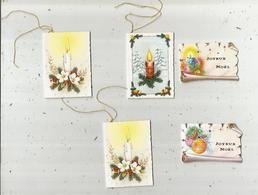 étiquette De Paquet Cadeau , Chromo , LOT DE 5 ETIQUETTES VIERGES - Vieux Papiers