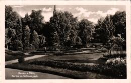 Hanau, Partie Im Schlosspark, Feldpost 1940 - Hanau