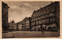Hanau, Altstädter Rathaus, Verschiedene Geschäfte, Ca. 30er Jahre - Hanau