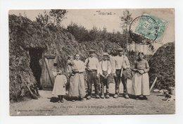 - CPA THOIRES (21) - Forêts De La Bourgogne - Famille De Bûcherons 1906 (belle Animation) - Edition Bogureau 189 - - Otros Municipios
