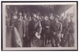 Dt- Reich (005522) Propaganda Fotokarte A.Hitler Zu Besuch, Ungebraucht - Allemagne