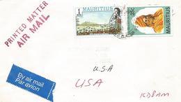 Mauritius 1984 Vacoas Hindu Guru Swami Dayananda British Landing Cover - Maurice (1968-...)