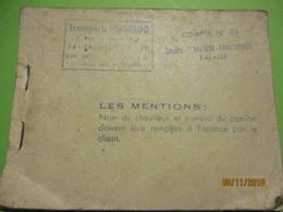 Carnet De Bons De Passage/Pont De TANCARVILLE/ Ch.  Com. Ind. Du Havre/Transports Offredo /Falaise/1971   AC146 - Transporttickets