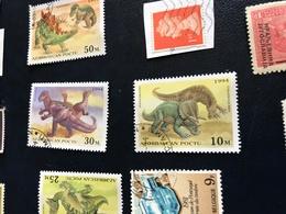 AZERBAIJGIAN I DINOSAURI - Stamps