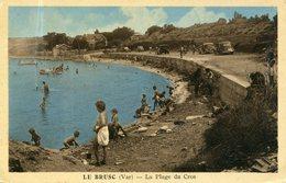 83 - Le BRUSC - La Plage Du Cros - Andere Gemeenten