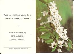 "Calendrier De 1992 "" Librairie Fumal Compere à MARCHIN "" - Calendars"