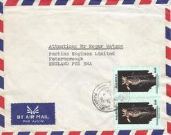 Mauritius 1990 Port Louis Ornate Day Gecko Phelsuma Ornata Reptile Cover - Mauritius (1968-...)