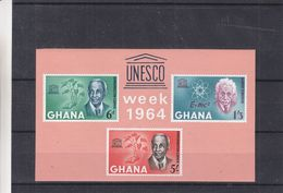 Einstein - UNESCO - Ghana -  Bloc  ** - Albert Einstein