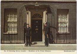 POLICE: No. 10 Downing Street, London  - 2x BOBBY -  (Kardorama  Ltd.) - Politie-Rijkswacht