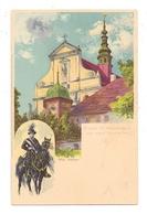 0-8291 PANSCHWITZ - KUCKAU, Kloster St. Marienstern, Wendischer Osterreiter, Künstler-Karte Max Näther, Meissner & Buch - Panschwitz-Kuckau