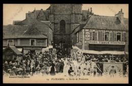 56 - Ploërmel 14 Sortie De Procession Au Meilleur Marché Mercerie Tissus Bonneterie #01496 - Ploërmel