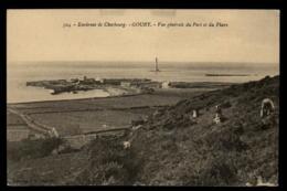 50 - Auderville - Beaumont-Hague Vue Générale Du Port Et Du Phare Cherbourg #00863 - Autres Communes