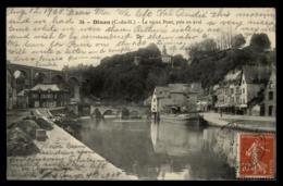 22 - Dinan Le Vieux Pont Pris En Aval Viaduc #00738 - Dinan
