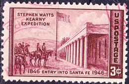 USA - 100. Jahrestag Der Eroberung Von Santa Fé (MiNr: 550) 1946 - Gest Used Obl - United States