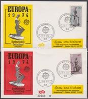 BRD FDC 1974 Nr.804-805 Europa ( D 6292 ) Günstige Versandkosten - [7] République Fédérale