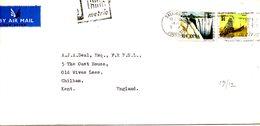 RHODESIE DU SUD. N°186 De 1970 Sur Enveloppe Ayant Circulé. Mine. - Factories & Industries