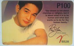 PLDT Rico Yan  100 Peso  MINT - Philippines