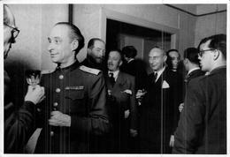 Photo Ancienne Originale Officiels Civils Et Militaires  Photo Kahle Berlin  1946 Commission Alliée Ww2 - Oorlog, Militair