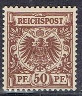 DO 6543 DUITSE REICH SCHARNIER YVERT NR 50 ZIE SCAN ! - Deutschland