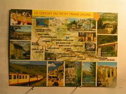 Le Petit Train Jaune - Vues Diverse - Carte - Autres Communes