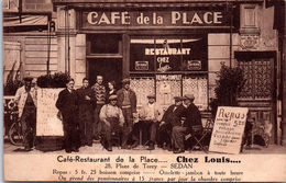 08 SEDAN - Café Restaurant CHEZ LOUIS, 28 Place De Torcy (RARE) - Sedan