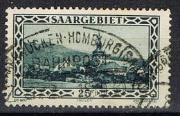 DO 6546 SPOORSTEMPEL  SAARBRUCKEN-HOMBURG YVERT NR 110 ZIE SCAN ! - Oblitérés