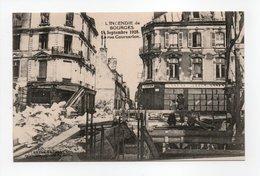 - CPA BOURGES (18) - INCENDIE Du 14 Septembre 1928 - La Rue Coursarlon - - Bourges