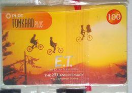 PLDT E T 20th Anniversary  100 Pesos MINT - Philippines
