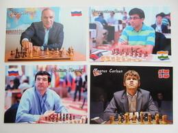 Big Lot. World Chess Players (15PCs) - Schach  - Ajedrez - Echecs - Chess