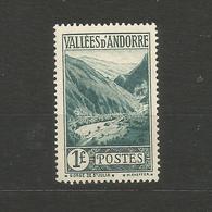 Französisch Andorra, Landschaften, Nr. 39** Postfrisch - Ungebraucht