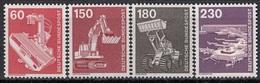 GERMANY Bundes 990-994,unused - Factories & Industries