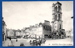 Mantes -  Tour Et Place St Maclou - Mantes La Ville