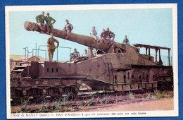 Camp De Mailly  -  Pièçe D Artillerie - Mailly-le-Camp