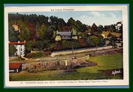 """CPA Planfoy Les Villas Bordant La """" Route Bleue """" écrite BE (pas Com !) - Other Municipalities"""