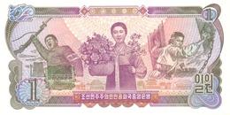 KOREA P. 18b 1 W 1978 UNC - Corée Du Nord