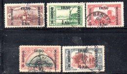 R559 - IRAQ IRAK 1919 , Cinque Valori Usati - Iraq