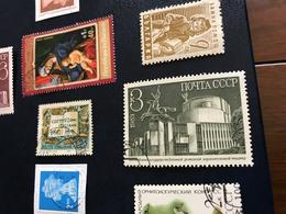 URSS EDIFICI STILE SOVIETICO - Stamps