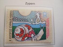 Cyprus 1987 European Campaign For The Countryside MNH**. (S42-NVT) - European Ideas