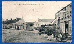 Cernay  - La Place - Restaurant Giradot  -  Abimée - Cernay-la-Ville