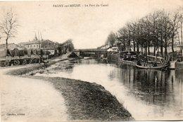 Pagny  Sur  Meuse -   Le  Port  Du  Canal. - France